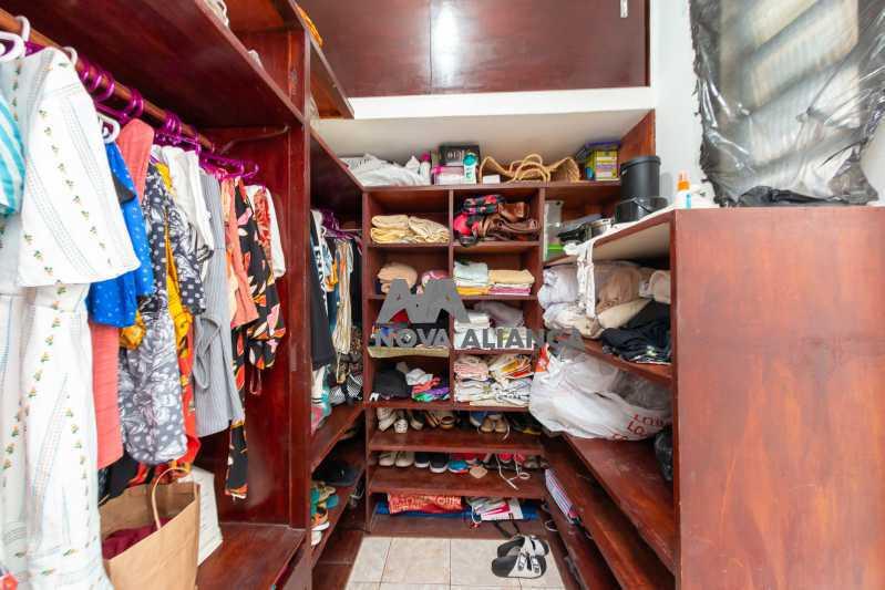 closet / suíte - Cobertura à venda Rua Doutor Satamini,Tijuca, Rio de Janeiro - R$ 1.100.000 - NTCO30119 - 20