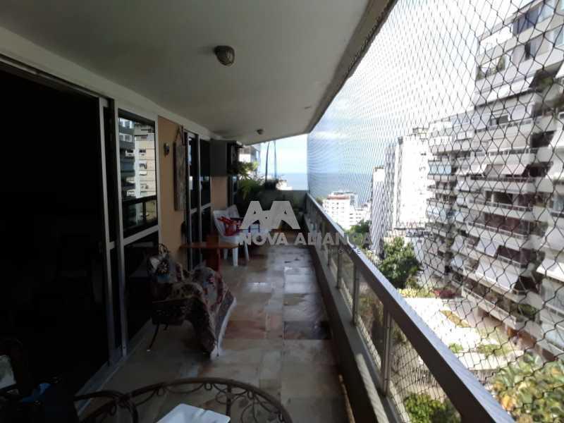 Foto1. - Apartamento 4 quartos à venda Leblon, Rio de Janeiro - R$ 3.099.000 - NIAP40684 - 1