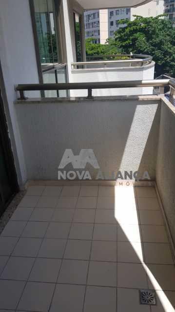-0 - Flat 1 quarto à venda Botafogo, Rio de Janeiro - R$ 280.000 - NBFL10008 - 1