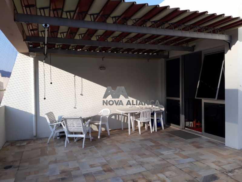 e - Cobertura 3 quartos à venda Grajaú, Rio de Janeiro - R$ 838.000 - NTCO30125 - 1