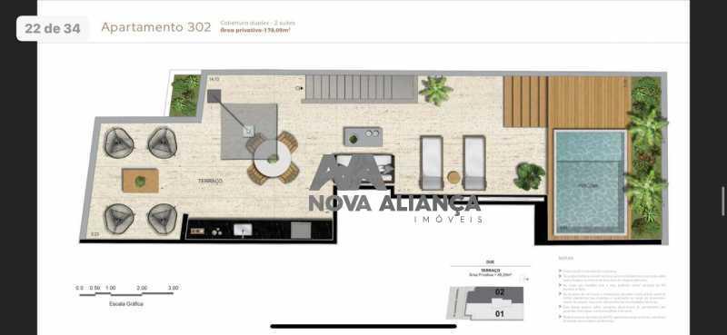WhatsApp Image 2020-06-01 at 1 - Cobertura à venda Avenida Alexandre Ferreira,Lagoa, Rio de Janeiro - R$ 2.443.000 - NICO20086 - 17