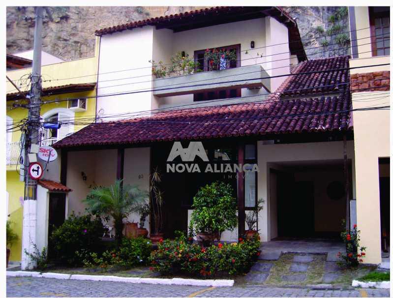 fachada - Casa em Condomínio à venda Rua Engenheiro Gama Lobo,Vila Isabel, Rio de Janeiro - R$ 1.550.000 - NTCN30015 - 1