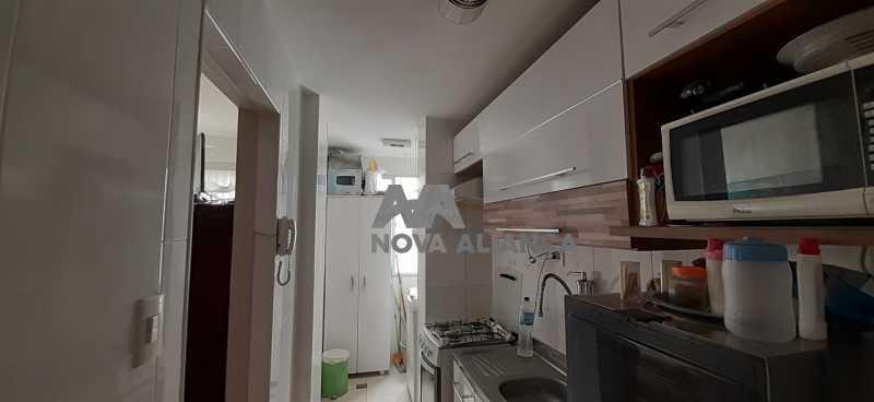 cozinha e área - Apartamento à venda Rua Araújo Leitão,Engenho Novo, Rio de Janeiro - R$ 170.000 - NTAP31435 - 10