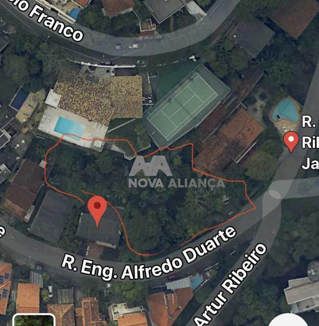 63D19410-BB20-40B4-8C7E-D2C3EE - Terreno Residencial à venda Rua Engenheiro Alfredo Duarte,Jardim Botânico, Rio de Janeiro - R$ 3.000.000 - NITR00002 - 1