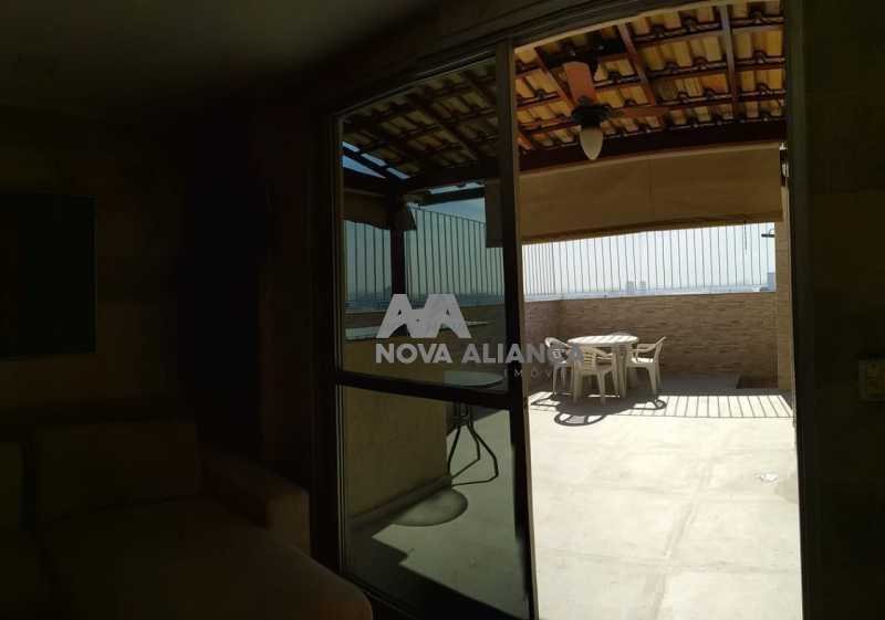 Entrada Área Externa - Cobertura 3 quartos à venda Rio Comprido, Rio de Janeiro - R$ 580.000 - NTCO30136 - 6