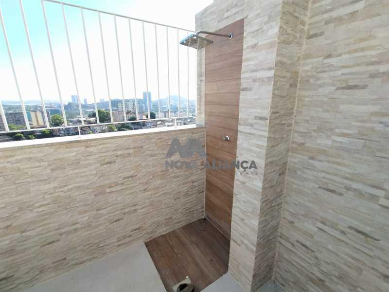 Área Externa - 1-2 - Cobertura 3 quartos à venda Rio Comprido, Rio de Janeiro - R$ 580.000 - NTCO30136 - 22