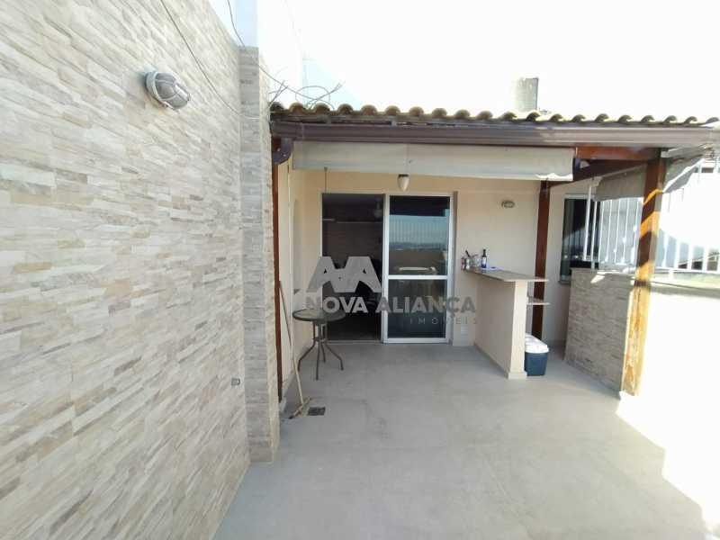 Área Externa 1-1 - Cobertura 3 quartos à venda Rio Comprido, Rio de Janeiro - R$ 580.000 - NTCO30136 - 23