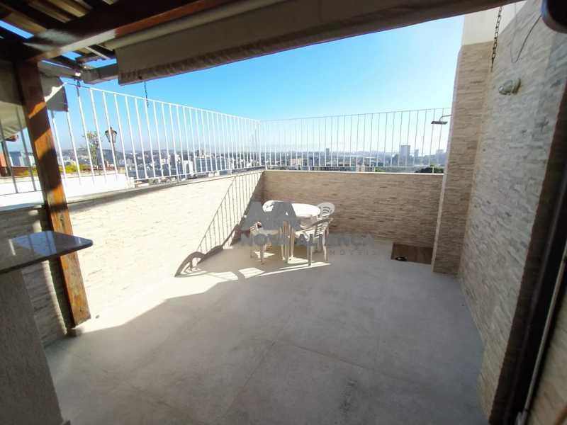 Área Externa 1-3 - Cobertura 3 quartos à venda Rio Comprido, Rio de Janeiro - R$ 580.000 - NTCO30136 - 24