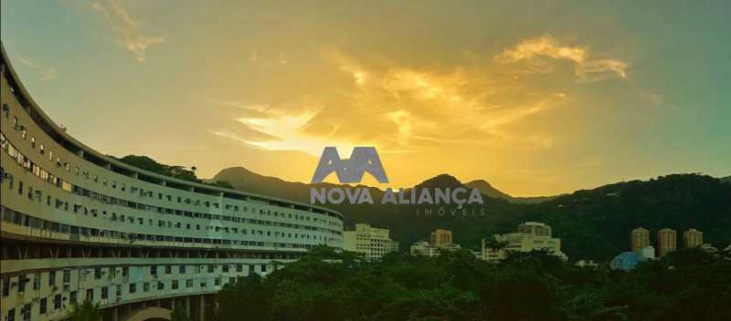 vista - Apartamento à venda Avenida Padre Leonel Franca,Gávea, Rio de Janeiro - R$ 650.000 - NBAP22243 - 17