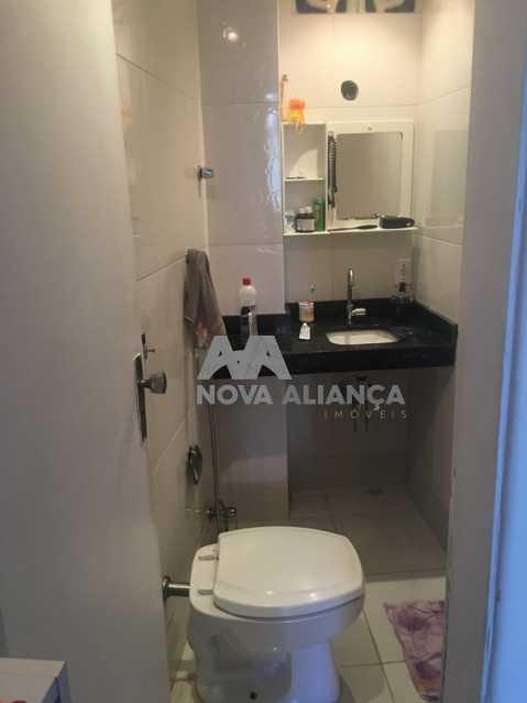 Banheiro Suíte - Apartamento à venda Rua Barão de Iguatemi,Praça da Bandeira, Rio de Janeiro - R$ 380.000 - NTAP21825 - 14