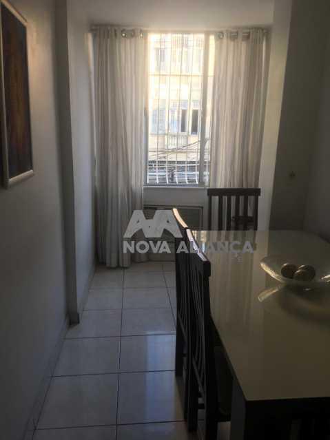 Sala Jantar - Apartamento à venda Rua Barão de Iguatemi,Praça da Bandeira, Rio de Janeiro - R$ 380.000 - NTAP21825 - 9