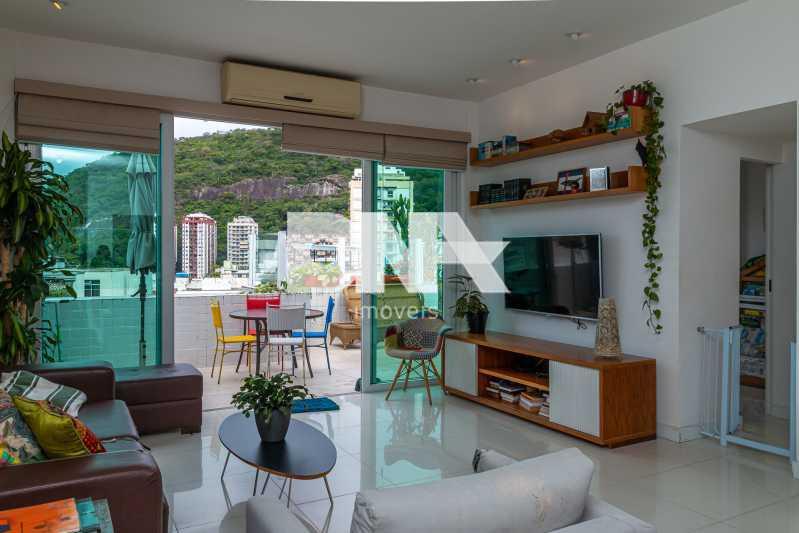IMG_5293 - Cobertura à venda Rua do Humaitá,Humaitá, Rio de Janeiro - R$ 1.650.000 - NBCO20082 - 1