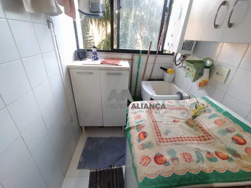 Área Serviço 1-1 - Apartamento à venda Rua Pereira de Almeida,Praça da Bandeira, Rio de Janeiro - R$ 500.000 - NTAP21888 - 19
