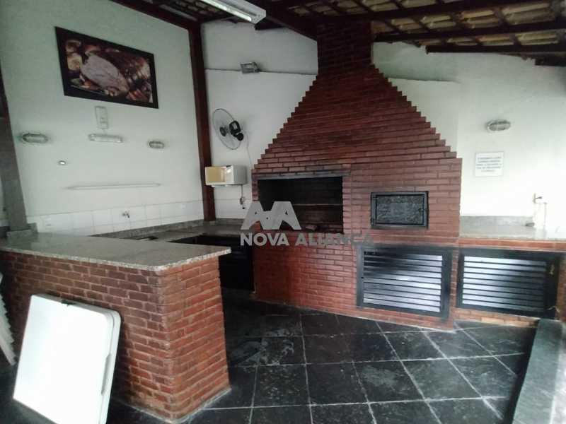 Churrasqueira 1-2 - Apartamento à venda Rua Pereira de Almeida,Praça da Bandeira, Rio de Janeiro - R$ 500.000 - NTAP21888 - 23