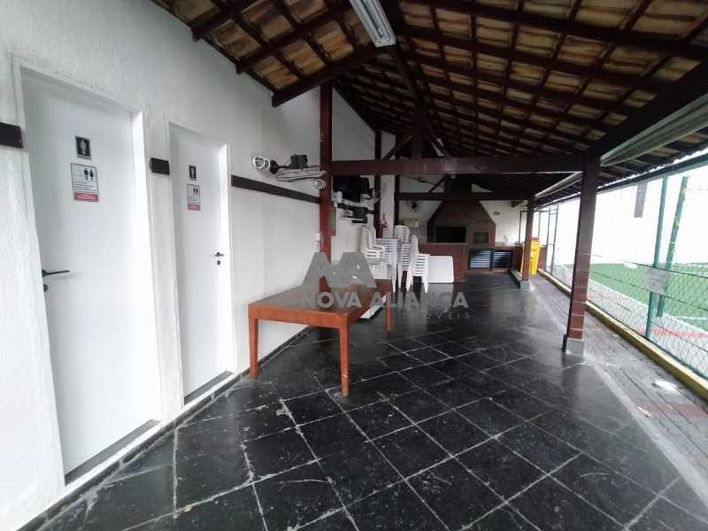 Churrasqueira 1-3 - Apartamento à venda Rua Pereira de Almeida,Praça da Bandeira, Rio de Janeiro - R$ 500.000 - NTAP21888 - 24