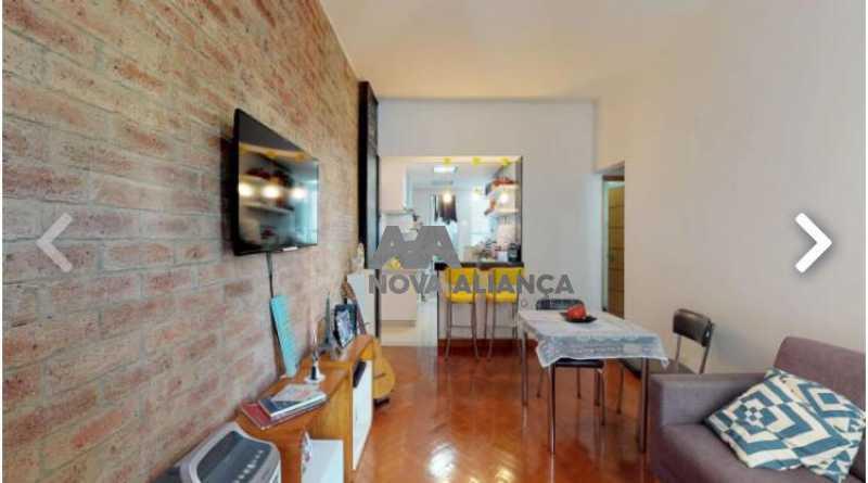 1 - Apartamento à venda Rua das Laranjeiras,Laranjeiras, Rio de Janeiro - R$ 670.000 - NBAP22283 - 1