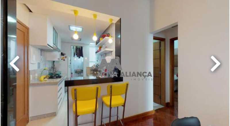 6 - Apartamento à venda Rua das Laranjeiras,Laranjeiras, Rio de Janeiro - R$ 670.000 - NBAP22283 - 6