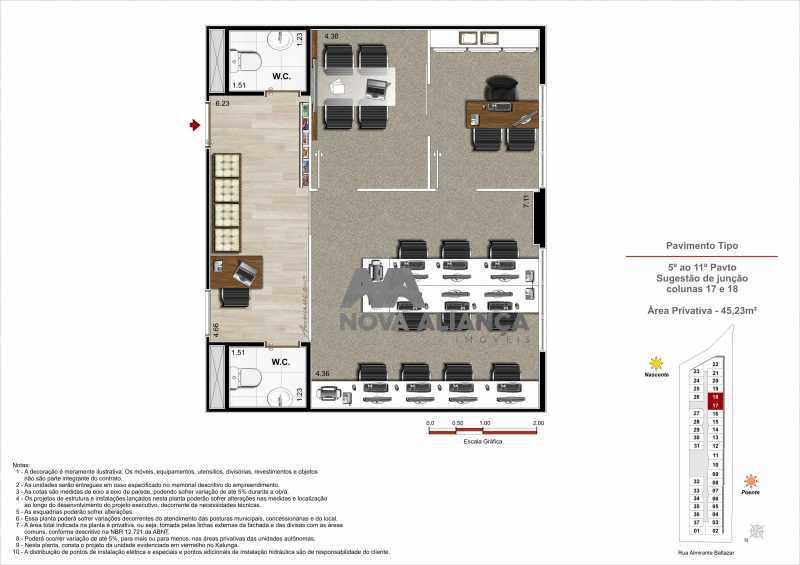 10 - Sala Comercial 21m² à venda Rua Almirante Baltazar,São Cristóvão, Rio de Janeiro - R$ 197.824 - NTSL00172 - 11