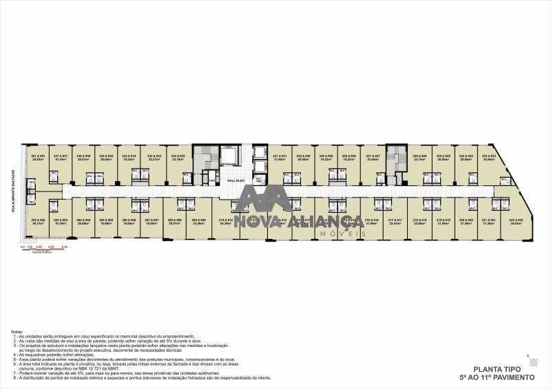 11 - Sala Comercial 21m² à venda Rua Almirante Baltazar,São Cristóvão, Rio de Janeiro - R$ 197.824 - NTSL00172 - 12