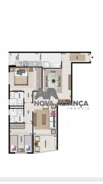 273034804957449 - Apartamento à venda Rua do Catete,Glória, Rio de Janeiro - R$ 1.055.000 - NBAP22336 - 15