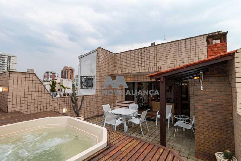 área externa - Cobertura à venda Rua Humberto de Campos,Leblon, Rio de Janeiro - R$ 4.995.000 - NICO40152 - 28