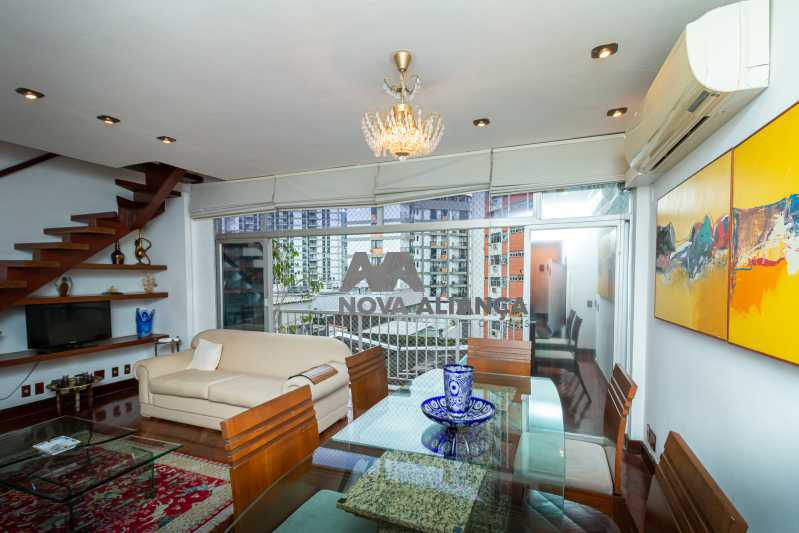 sala 1ºandar - Cobertura à venda Rua Humberto de Campos,Leblon, Rio de Janeiro - R$ 4.995.000 - NICO40152 - 11