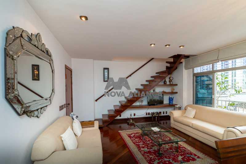sala 1ºandar - Cobertura à venda Rua Humberto de Campos,Leblon, Rio de Janeiro - R$ 4.995.000 - NICO40152 - 10