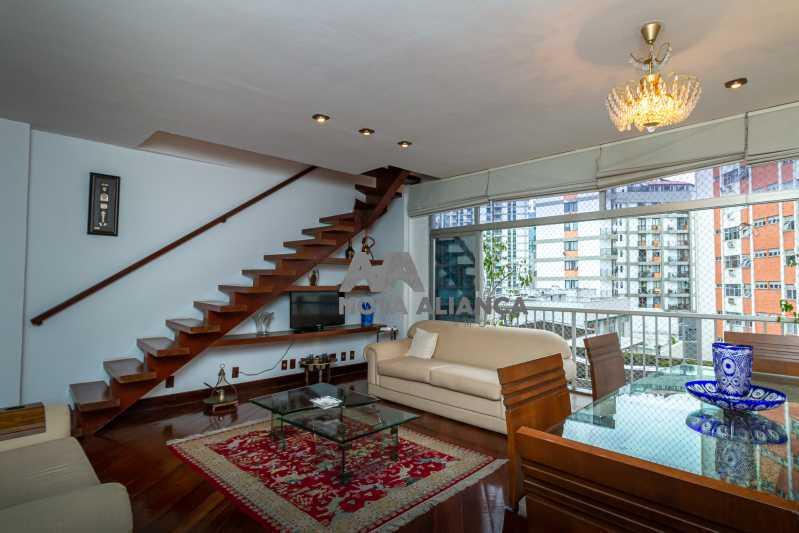 sala 1ºandar - Cobertura à venda Rua Humberto de Campos,Leblon, Rio de Janeiro - R$ 4.995.000 - NICO40152 - 12