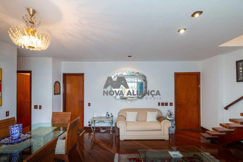 sala 1ºandar - Cobertura à venda Rua Humberto de Campos,Leblon, Rio de Janeiro - R$ 4.995.000 - NICO40152 - 14