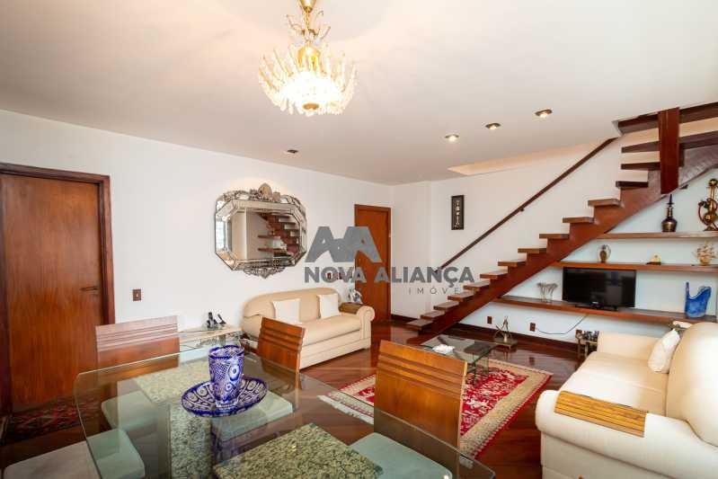 sala 1ºandar - Cobertura à venda Rua Humberto de Campos,Leblon, Rio de Janeiro - R$ 4.995.000 - NICO40152 - 15