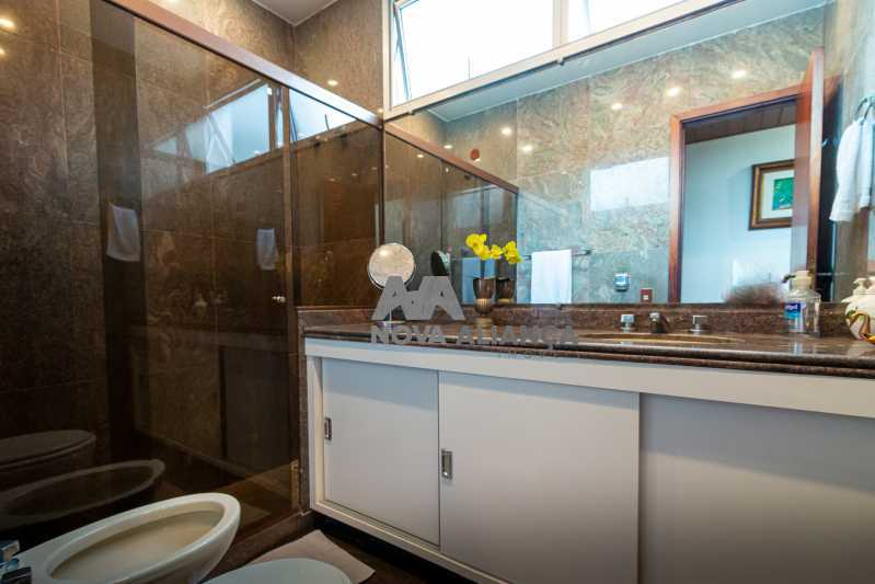 banheiro - Cobertura à venda Rua Humberto de Campos,Leblon, Rio de Janeiro - R$ 4.995.000 - NICO40152 - 22