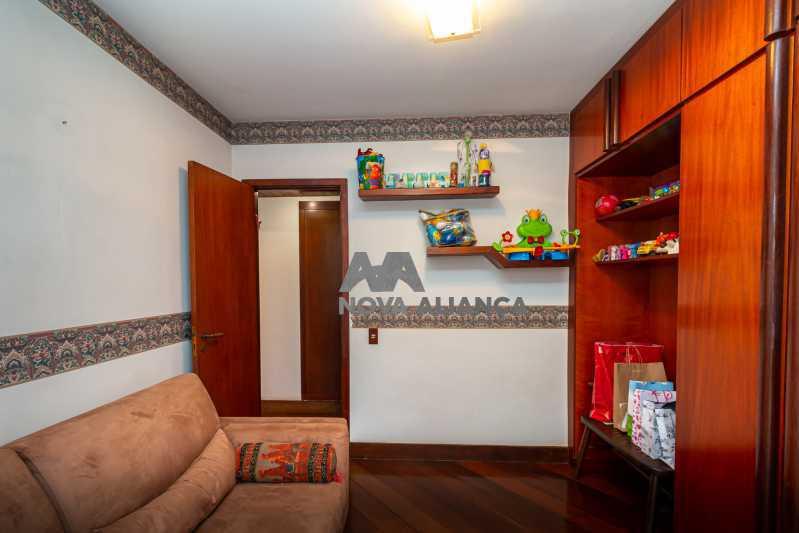 quarto escritório - Cobertura à venda Rua Humberto de Campos,Leblon, Rio de Janeiro - R$ 4.995.000 - NICO40152 - 23