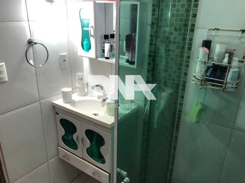 Banheiro social apto Tijuca - Tijuca 3 quartos próximo ao metrô - NTAP31583 - 15