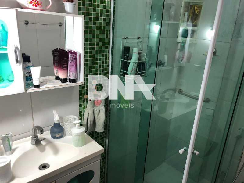 Banheiro social apto Tijuca - Tijuca 3 quartos próximo ao metrô - NTAP31583 - 16