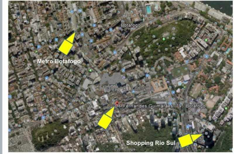 2 - Casa à venda Rua Fernandes Guimarães,Botafogo, Rio de Janeiro - R$ 1.500.000 - NBCA30048 - 3