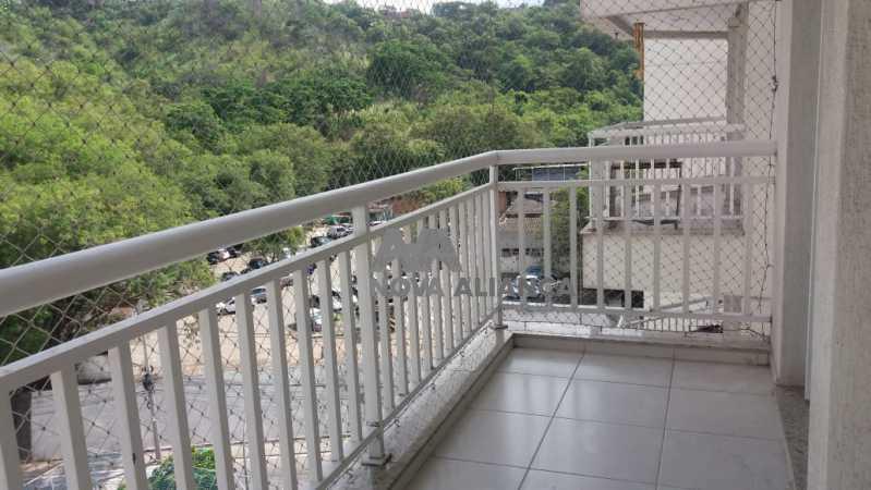 vista da varanda - Apartamento à venda Avenida Marechal Rondon,São Francisco Xavier, Rio de Janeiro - R$ 290.000 - NTAP22015 - 24