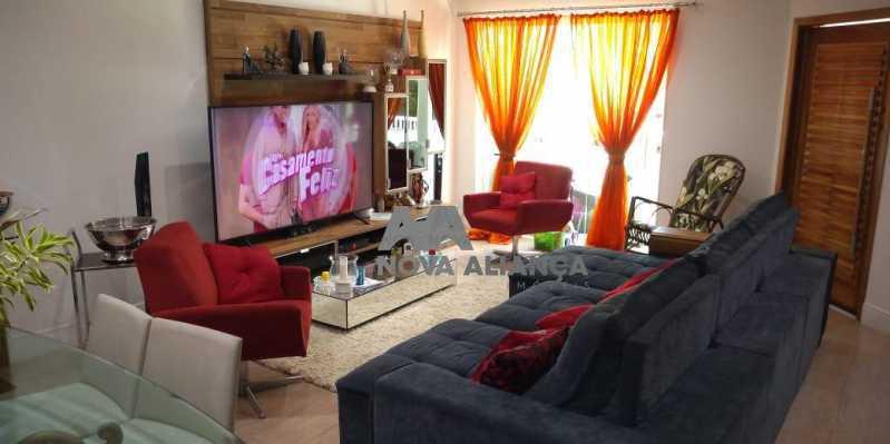 Sala 1-4 - Casa 4 quartos à venda Grajaú, Rio de Janeiro - R$ 1.220.000 - NTCA40071 - 6