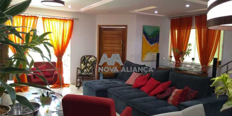 Sala 1-7 - Casa 4 quartos à venda Grajaú, Rio de Janeiro - R$ 1.220.000 - NTCA40071 - 1