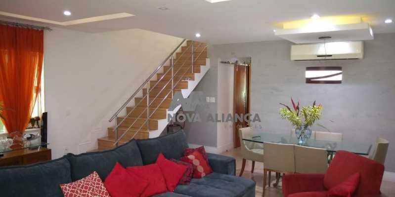 Sala 1-9 - Casa 4 quartos à venda Grajaú, Rio de Janeiro - R$ 1.220.000 - NTCA40071 - 8