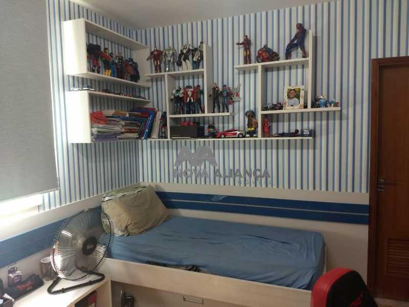 Quarto 1-1 - Casa 4 quartos à venda Grajaú, Rio de Janeiro - R$ 1.220.000 - NTCA40071 - 12
