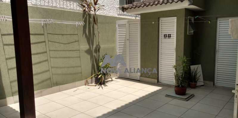 Área Externa 1-1 - Casa 4 quartos à venda Grajaú, Rio de Janeiro - R$ 1.220.000 - NTCA40071 - 18