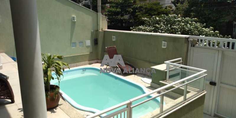Piscina 1-1 - Casa 4 quartos à venda Grajaú, Rio de Janeiro - R$ 1.220.000 - NTCA40071 - 19
