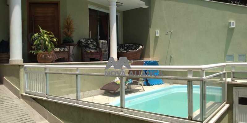 Piscina 1-2 - Casa 4 quartos à venda Grajaú, Rio de Janeiro - R$ 1.220.000 - NTCA40071 - 3