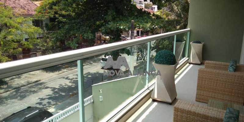 Vista 1-2 - Casa 4 quartos à venda Grajaú, Rio de Janeiro - R$ 1.220.000 - NTCA40071 - 4