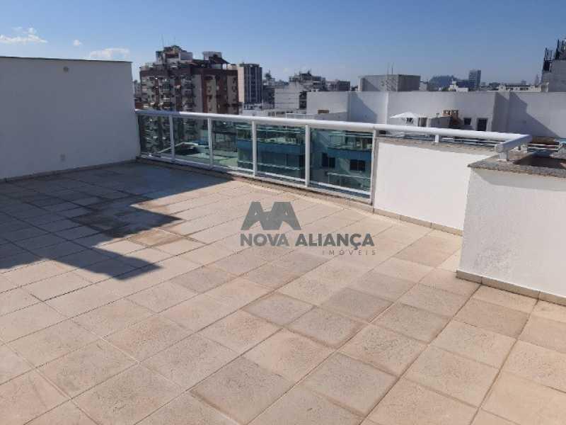terraço - Cobertura à venda Rua Araújo Pena,Tijuca, Rio de Janeiro - R$ 790.000 - NBCO20083 - 7