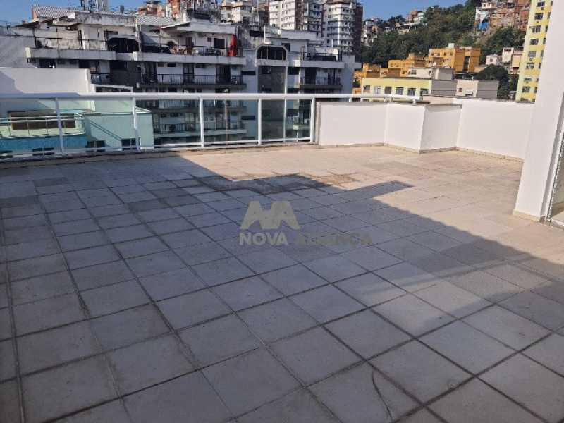 terraço - Cobertura à venda Rua Araújo Pena,Tijuca, Rio de Janeiro - R$ 790.000 - NBCO20083 - 8