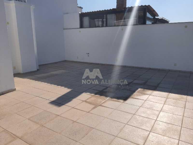 terraço - Cobertura à venda Rua Araújo Pena,Tijuca, Rio de Janeiro - R$ 790.000 - NBCO20083 - 10