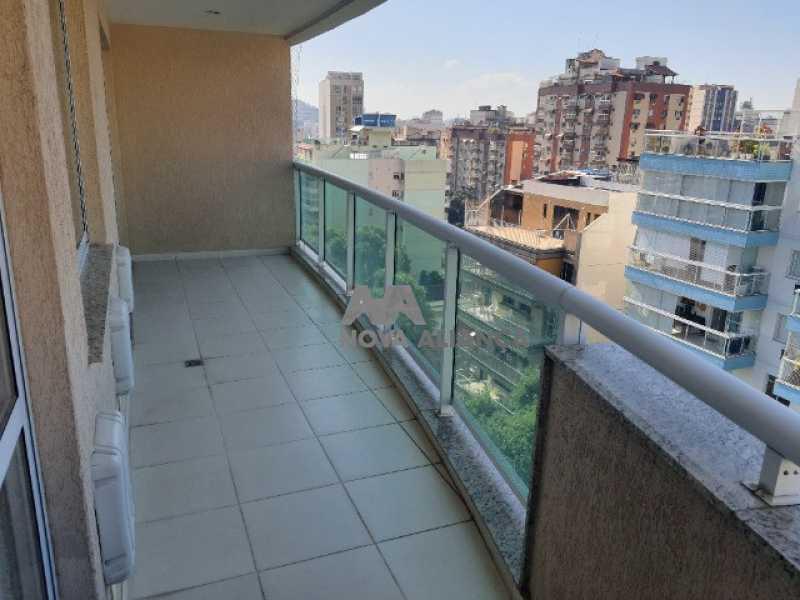 varanda  - Cobertura à venda Rua Araújo Pena,Tijuca, Rio de Janeiro - R$ 790.000 - NBCO20083 - 1