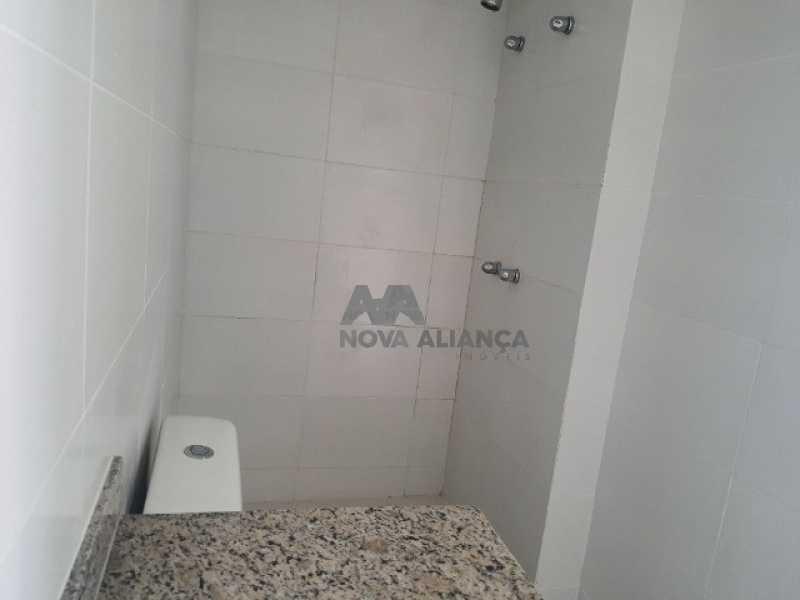 banheiro social - Cobertura à venda Rua Araújo Pena,Tijuca, Rio de Janeiro - R$ 790.000 - NBCO20083 - 13