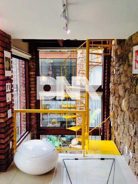 gago 2 - Casa de Vila 3 quartos à venda Laranjeiras, Rio de Janeiro - R$ 950.000 - NFCV30027 - 6
